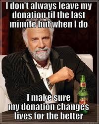 Donation Meme - united way donation quickmeme