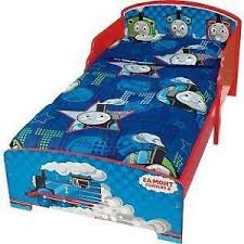 Train Cot Bed Duvet Cover Thomas Bed Furniture Ebay