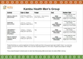 men s kambu men s health checks