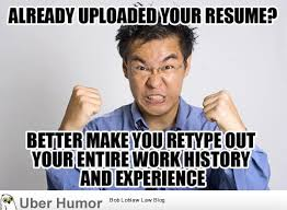 Job Search Meme - the biggest frustration when job searching funny pictures