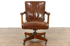 Leather Mid Century Chair Sold Midcentury Modern 1960 Vintage Leather Swivel Adjustable