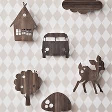 wooden animal wall wall lighting with wooden animal themes