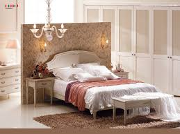 decorating modern traditional bedroom with artistic wallpaper