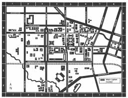 Campus Map Oregon State by Special Collections U0026 Archives Research Center Osu Campus Map 1990