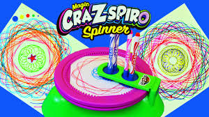 color designs cra z art fun spin art maker called cra z spiro spinning stencils