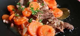 cuisiner du paleron de boeuf bœuf aux carottes recettes cookeo