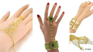 bracelet with ring designs images Stylish ring bracelets designs beautiful ring bracelets jpg