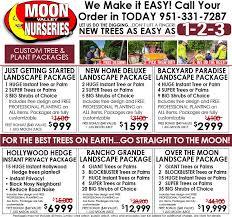 package deals nurseries in california moon valley nurseries