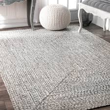 Free Area Rugs Nuloom Grey Indoor Outdoor Braided Area Rug 4 X 6 Free