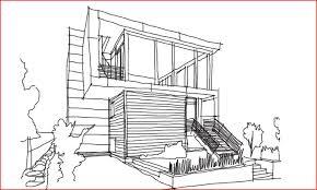 modern architecture sketch interior design