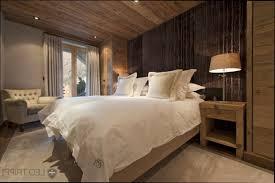 chambre chalet luxe deco chambre chalet mobilier décoration