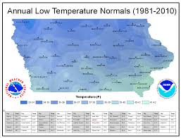 Iowa Road Conditions Map Iowa Climate Normals Maps