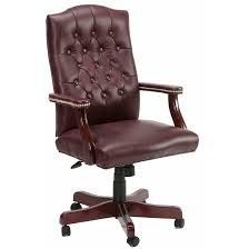 Desk Chair Leather Design Ideas Brown Leather Office Chair The Chair For Better Comfort