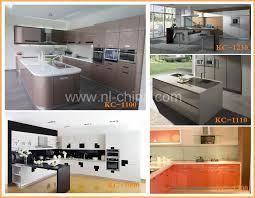 Kitchen Cabinets India Prefab High Gloss Vinyl Wrap Doors Cheap India Kitchen Cabinet
