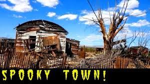 abandoned creepy spooky town u0026 strange side road close to area 51