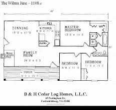log home floor plans with basement log home floor plan the wilma 1108 square by b and h