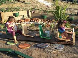 diy natural playspaces chairs buses and climbing frames the