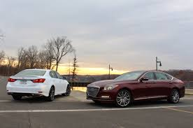 lexus vs infiniti brand new u0026 old hyundai genesis vs lexus gs350 u2013 limited slip blog