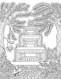 109 secret garden images coloring books