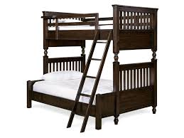 Bunk Beds Pine Pine Valley Bunk Bed With Rail Post Design Morris Home