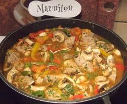 cuisiner du sauté de porc sauté de porc au poivron recette de sauté de porc au poivron