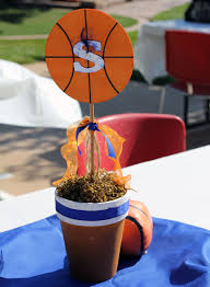 Basketball Centerpieces Basketball Baby Shower