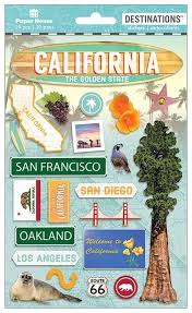 California Travel Stickers images Travel california 2d sticker paper house jpg