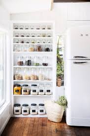 pantry with open shelving from interior stylist u0027s tree change to
