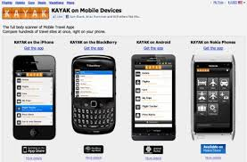 difference between iphone and android kayak iphone users buy travel android not so much tnooz