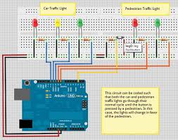 4 way traffic light using arduino nuts volts magazine for the electronics hobbyist