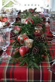 Festive Christmas Table Decoration Ideas And Tutorials 2017 by Best 25 Tartan Christmas Ideas On Pinterest Tartan Throws