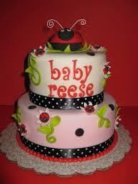 ladybug baby shower cake baby pinterest