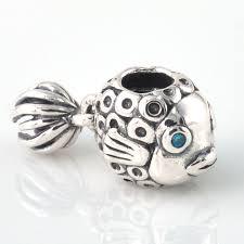 sterling silver beads pandora bracelet images Fit pandora bracelet charms 925 sterling silver beads angel fish jpg