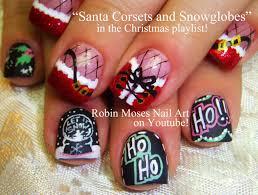 snowysantachristmasnailartbyinspirationschristmasnailart