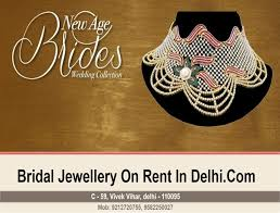 bridal jewellery on rent bridal jewellery on rent vivek vihar east delhi jewellery