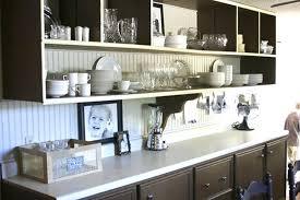 Open Shelf Kitchen Cabinet Ideas Open Kitchen Cabinets Openpoll Me