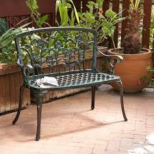 considering to buy metal outdoor patio bench patio design ideas