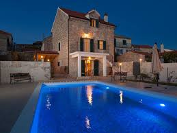 House With Pools Holiday House Old Stone House With Pool Dalmatia Firma Larus