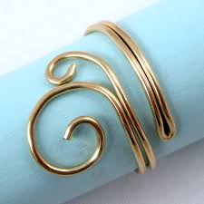 make wire rings images Easy folded wire ring tutorial jewelry making journal jpg
