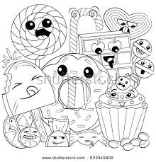 coloring book pages food stock images royalty free images
