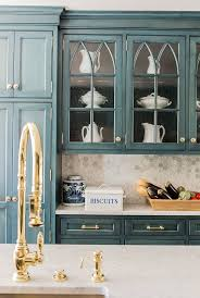 kitchen cabinets with gold hardware big comeback brass kitchen hardware centsational style