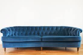 light blue velvet couch velvet couch yellow brick home