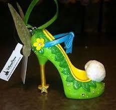 free disney parks tinker bell shoe pin ornament