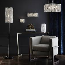 John Lewis Pendant Lights by Lights Floor Lamp With Hanging Crystals Crystal Floor Lamp