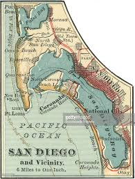 San Diego Ca Map by Map Of San Diego Pictures Getty Images