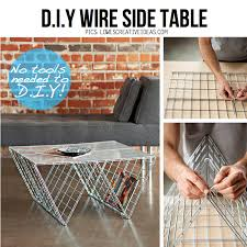 diy coffee table ideas amazing diy side table ideas