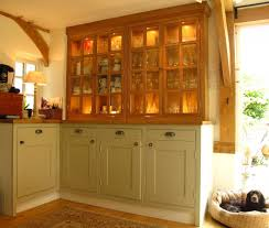 kitchen tranquil interior of beige kitchen with timeless cabinet