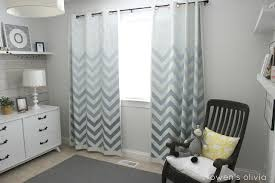 Navy Chevron Curtains Chevron Curtains Nursery Inspiration With Remodelaholic 25