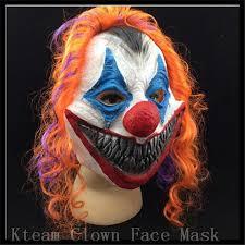 Scary Clown Halloween Costumes Men Aliexpress Buy Scary Clown Mask Joker Men U0027s Face