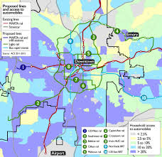 Map Of Midtown Atlanta by Atlanta U0027s Raising 2 5 Billion To Invest In Transit Will It Be